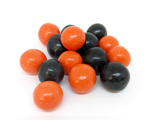 Orange & Black Candy Coated Dark Chocolate Malted Milk Balls (Halloween)