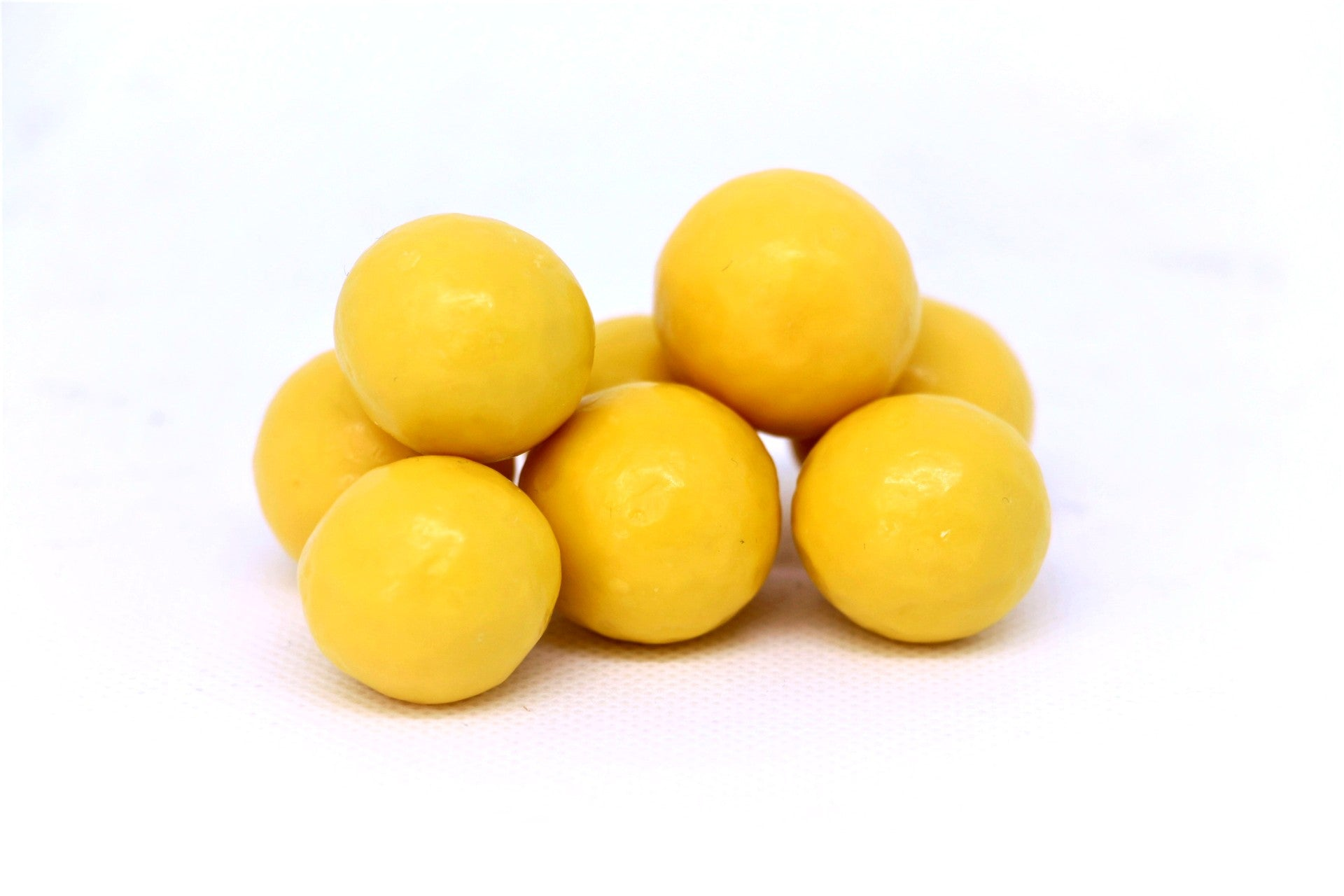 Yellow Pastel Coated Milk Chocolate Malted Milk Balls
