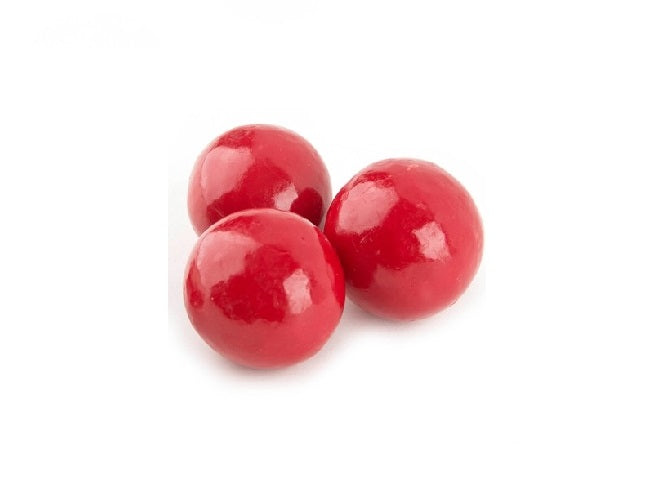 Red Pastel Coated Milk Chocolate Malted Milk Balls