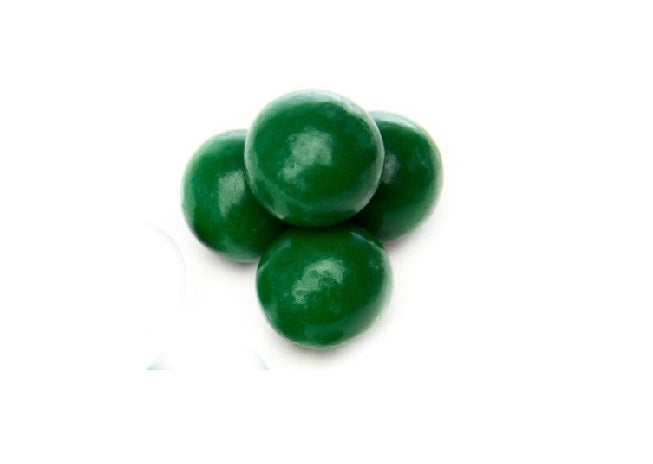 Dark Green Pastel Coated Milk Chocolate Malted Milk Balls - *200 Lb. Minimum Order*