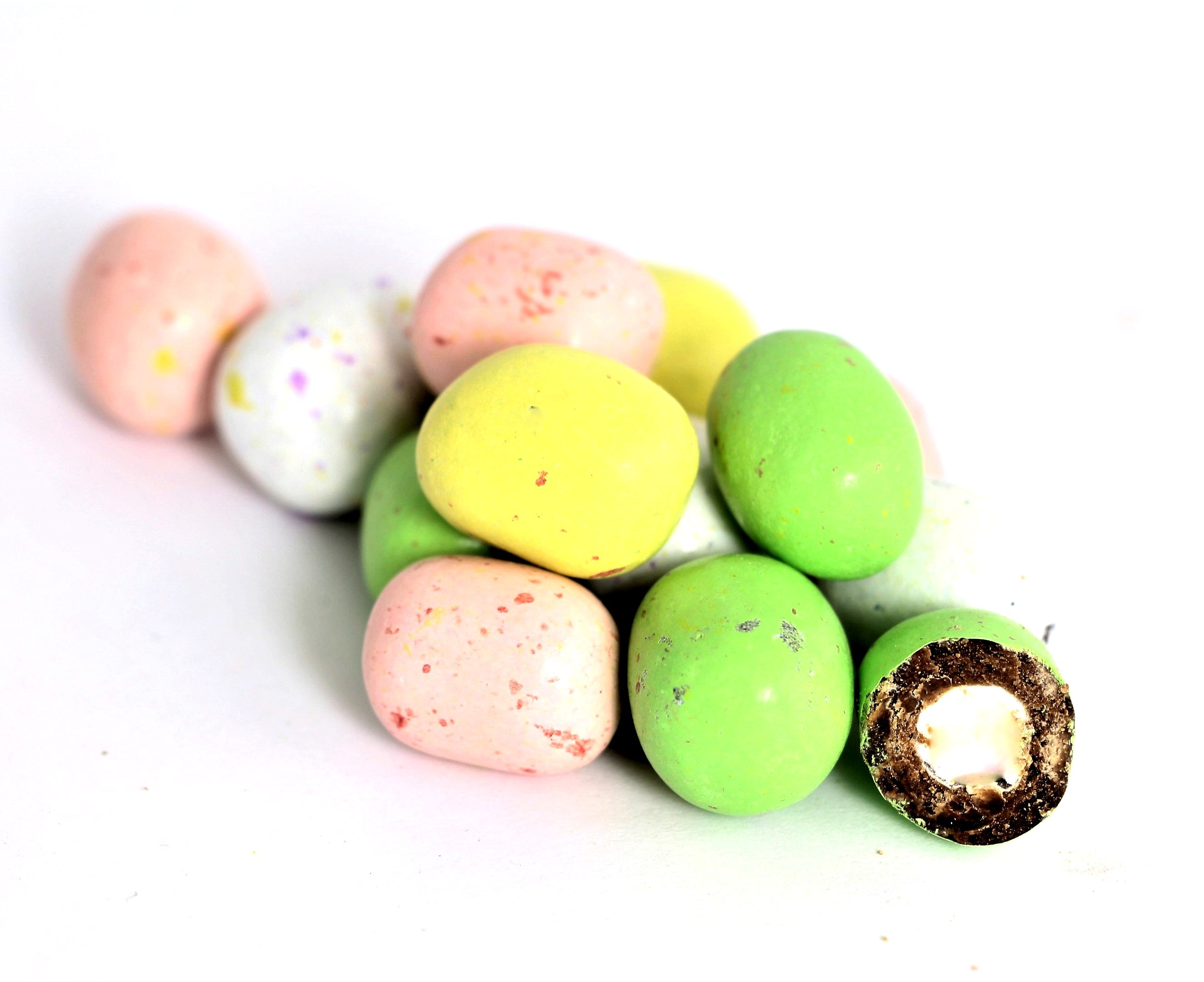 Speckled Marshmallow Eggs