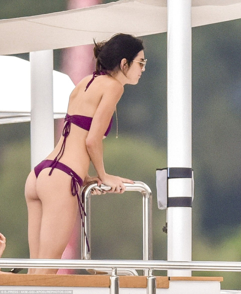 Kendall looks amazing in Plum!