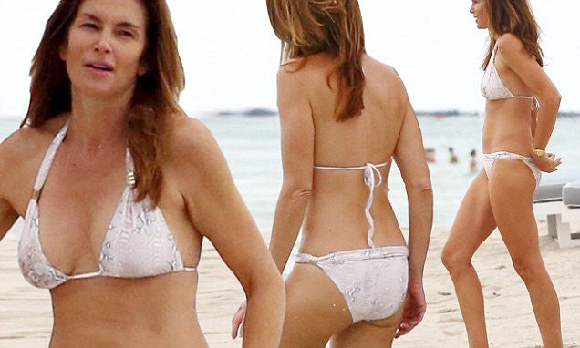 Oh hey there Cindy Crawford - the Ultimate bikini body inspiration!