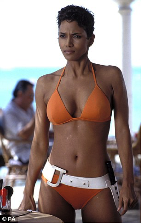 Halle Berry coming in at number 2!!