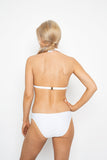 Moonbeam bikini brief - White