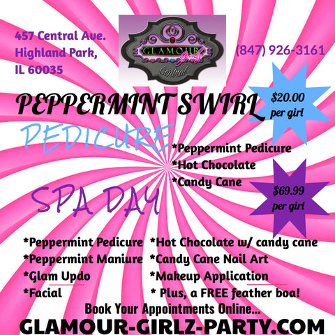 Glam Girl Spa Packages: