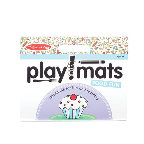 Melissa & Doug Playmats - Food Fun 6