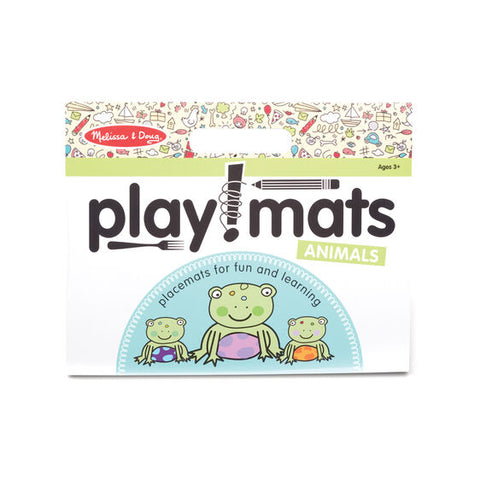Melissa & Doug  Playmats - Animals