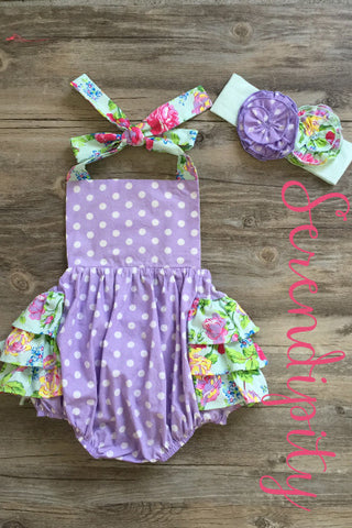 Serendipity Secret Garden Halter Dottie Bubble