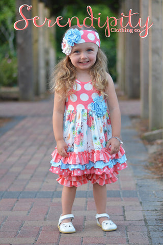 Serenity Ruffle Dress & Ruffle Shorties