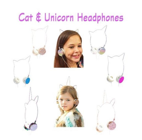 Unicorn Crystal Headphones