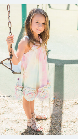 Isobella and Chloe Magic Muse Tie Dye Dress