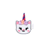 Wee Ones Character Caticorn Print Bow medium