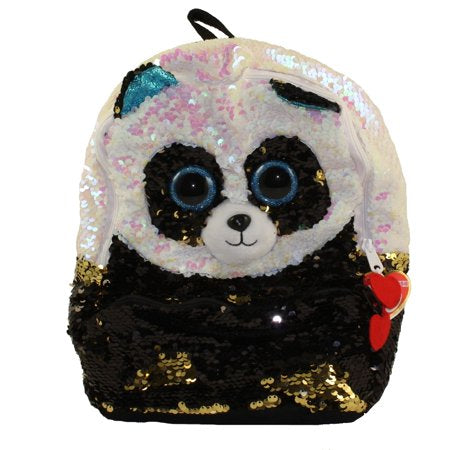 Ty Bamboo Sequin Square Backpack
