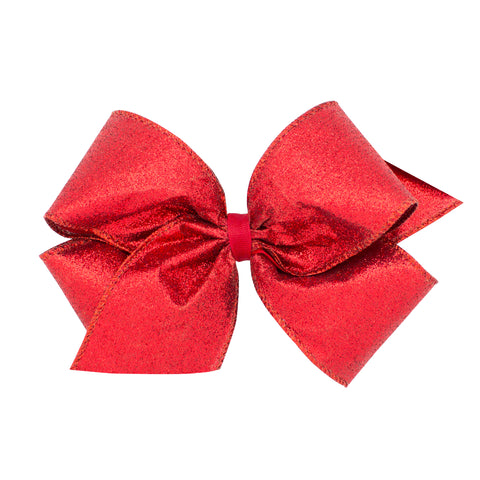 Wee Ones King Size Holiday Bow Red