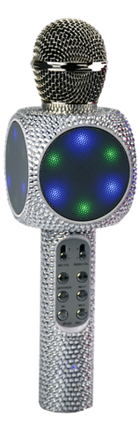 Sing-along Bling Bluetooth Karaoke Microphone