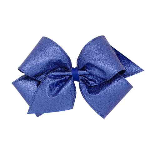 Wee Ones Holiday King Bow Blue