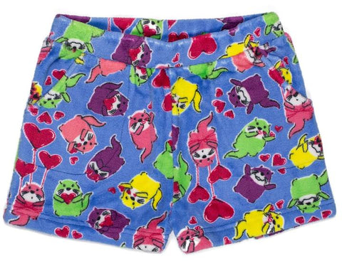 Candy Pink Otter Lounge Shorts