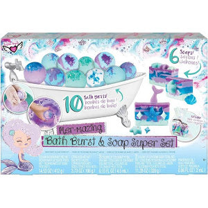 Fashion Angels Bath Burst And  Soap Super Set