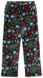 Candy Pink Camping Fleece Pants