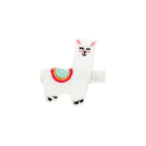 Wee Ones Character Llama Hair Bow Medium