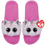 Ty Diamond Unicorn Reversible Sequin Beanie Boo Slides