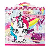Fashion Angels Unicorn Fantasy Shaker Portfolio