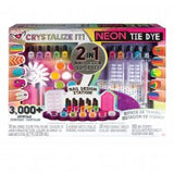 Crystallize It! Neon Tie Dye 2in 1 Nail Design Kit