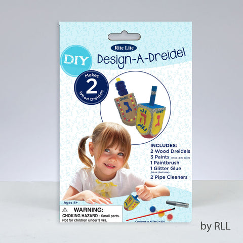 DIY Design -A-Dreidel