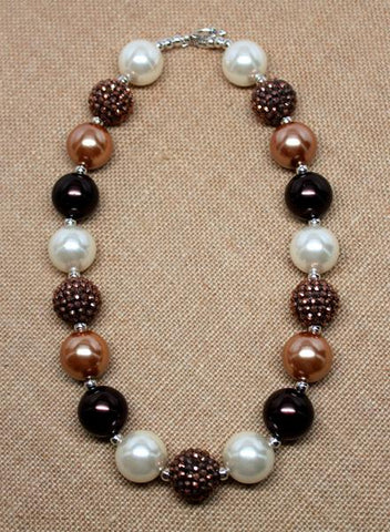 Cinnamon Chunky Necklace