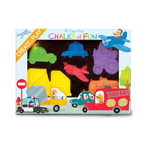 Chalks of Fun-Crazy Car Town