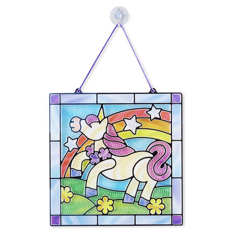 Melissa Doug Stained Glass Unicorn