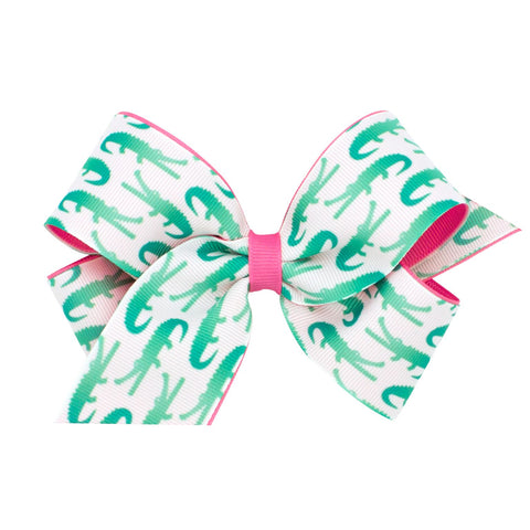 Wee Ones Medium Alligator Bow