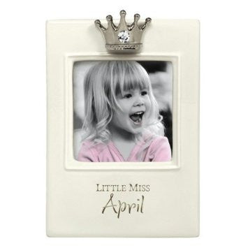 Little Miss Birthday Month Frame
