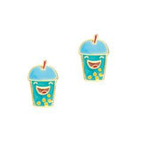 Girl Nation Bubble Tea Earrings