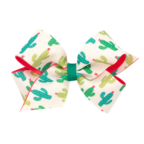 Wee Ones Medium Size Cactus Hair Bow