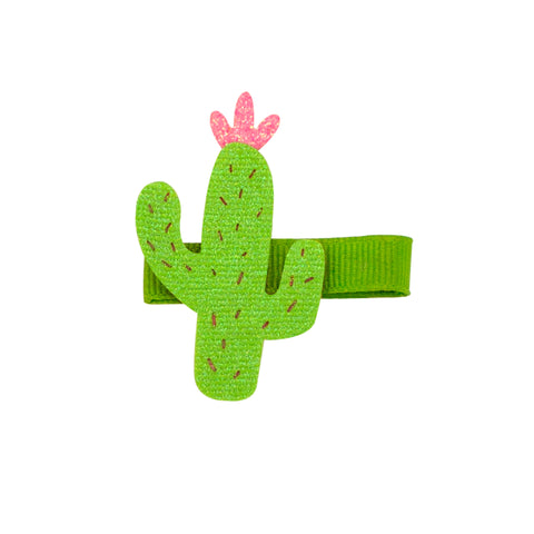 Wee Ones Glitter Cactus Clip