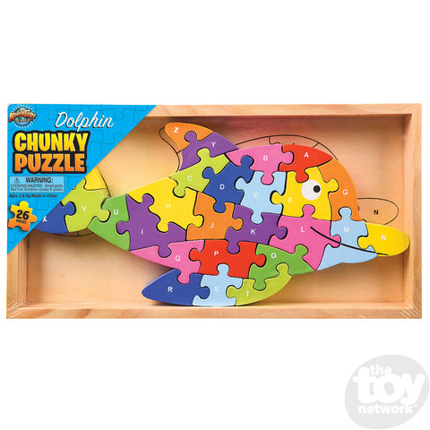 26 piece chunky dolphin puzzle