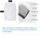 PM2.5 Activated Carbon Disposable Filters (5 Pack)