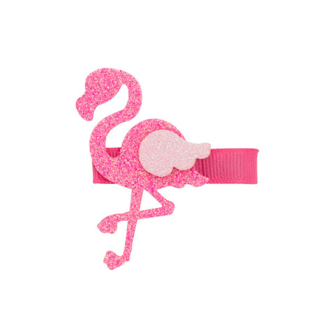 Wee Ones Glitter Flamingo Clip