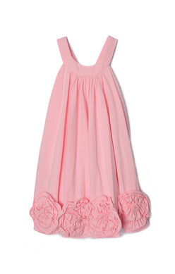 Isobella and Chloe Pink Flora Dance Dress