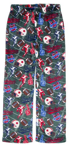 Candy Pink Boys Football Fleece Pants