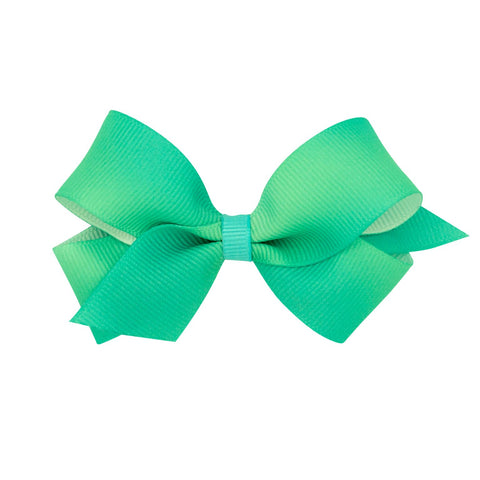 Wee Ones Medium Size Green Ombre Bow