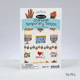 Rite Lite Chanukah Temporary Tattoos