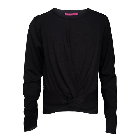 Me.N.U Black Side Zip Sweatshirt