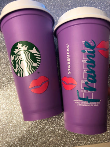 Custom Color Changing Personalized Coffee Travel Cup