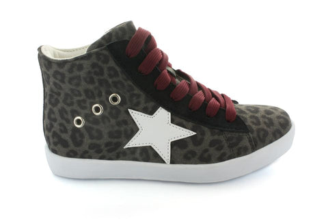 Leopard Print High Top