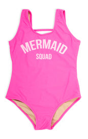 Shade Critter Mermaid Squad Bathing Suit
