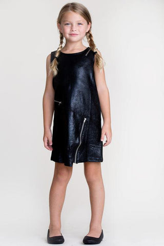 Mia New York Sueded Leather Dress