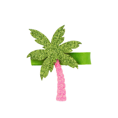 Wee Ones Glitter Palm Tree Clip